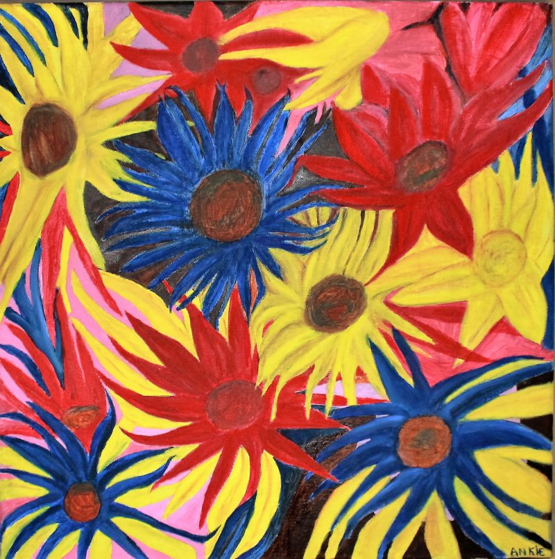 Vrolijke bloemen